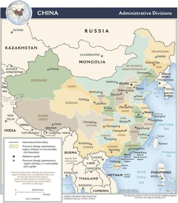 zoom-able China maps | James Couture